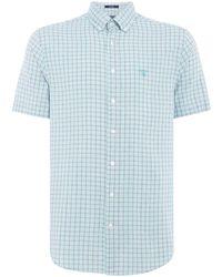 GANT - Men's Small Checked Shirt - Lyst