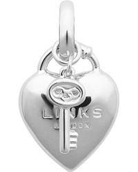 Links of London - Heart Padlock Charm - Lyst