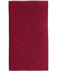 Benetton - Girls Stripe Knitted Scarf - Lyst