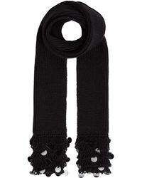 Label Lab - Sequin Embellished Knitted Scarf - Lyst