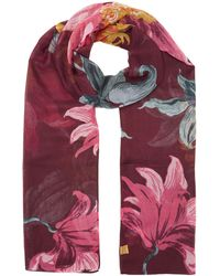 Joules - Wensley Long Wove Scarf - Lyst