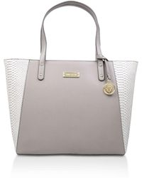 Anne Klein - Concept Tote In Grey - Lyst