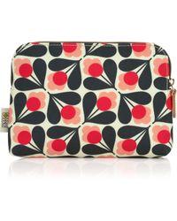Orla Kiely - Sycamore Print Cosmetic Bag - Lyst