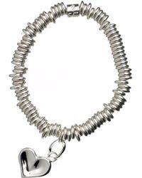 Links of London - Sweetie Heart Sterling Silver Bracelet - Lyst