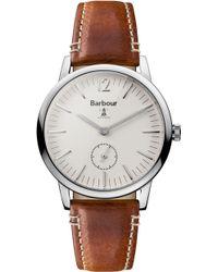 Barbour | Bb041bgbr Gents Strap Watch | Lyst