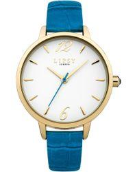 Lipsy - Ladies Blue Strap Watch - Lyst