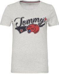 Tommy Hilfiger   Tommy Short Sleeve Panter Tee   Lyst