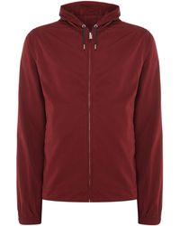 Perry Ellis | Hooded Zip-through Jacket | Lyst