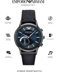 Emporio Armani - Connected Art3004 Mens Stap Smart Watch - Lyst