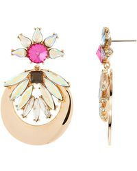 Maiocci Collection - Gold Multicolour Earrings - Lyst
