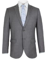 Alexandre Of England - Roman Grey Sharkskin Suit - Lyst