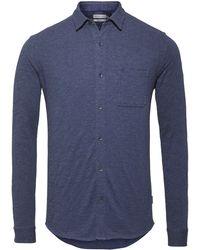 Calvin Klein | Long Sleeve Jersey Shirt | Lyst
