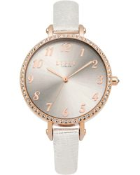 Lipsy - Ladies Strap Watch - Lyst