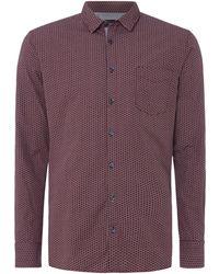 BOSS | Men's Cattiude 1 Geo Print Shirt | Lyst