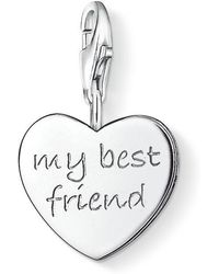 Thomas Sabo - Charm Club My Best Friend Heart - Lyst
