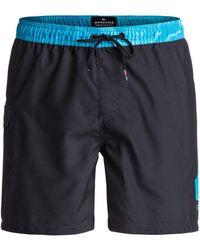 Quiksilver - Men's Lava Logo 17 Beach Shorts - Lyst