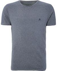 Label Lab - Kings Cotton Crew Neck Striped T-shirt - Lyst