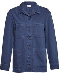 French Connection - Perret Utility Slouchy Workwear Jacket - Lyst