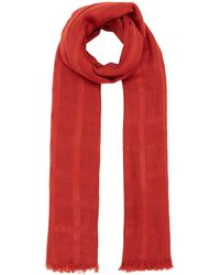 Label Lab - Woven Check Textured Scarf - Lyst