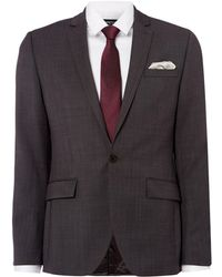 Kenneth Cole - Bleekman Slim Fit Pindot Suit Jacket - Lyst