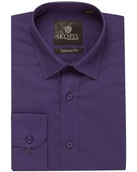 Skopes - Easy Care Formal Tailored Shirts - Lyst