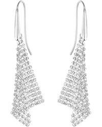 Swarovski - Fit Pierced Earrings - Lyst