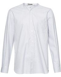 French Connection - Como Mouline City Stripe Shirt - Lyst