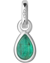 Links of London - Emerald May Birthstone Charm - Lyst