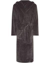 Howick | Hooded Charcoal Marl Fleece | Lyst