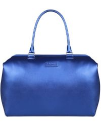 Lipault - Miss Plume Exotic Blue Weekend Bag - Lyst