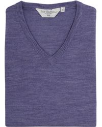Double Two - Men's King Size V Neck Sweater - Lyst