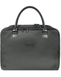 Lipault - Lady Plume Anthracite Grey Large Weekend Bag - Lyst