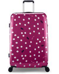 Radley - Vintage Dog Dot Large Suitcase - Lyst