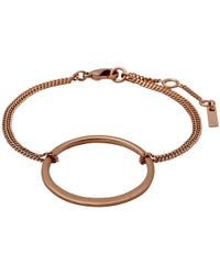 Pilgrim | Iona Rose Gold Plated Bracelet | Lyst