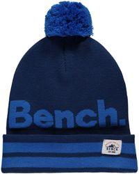 Bench - Turn Up Bobble Beanie - Lyst