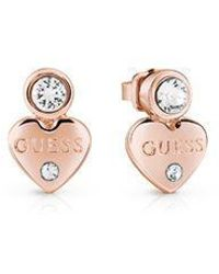 Guess - Y Little Heart Stud Earrings - Lyst