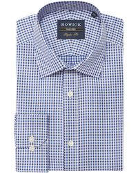Howick - Men's Belleville Gingham Twill Shirt - Lyst