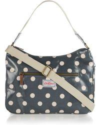 Cath Kidston - Button Spot Shoulder Bag - Lyst