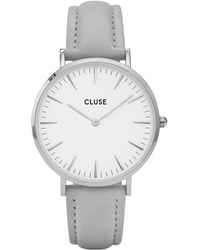 Cluse | Minuit Silver White-grey | Lyst