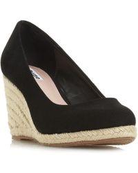 Dune - Annabela Espadrille Wedge Sandal Shoes - Lyst