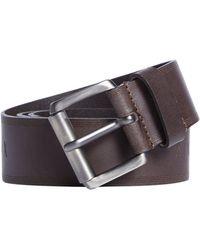 Armani Exchange - Leather Embossed Belt - Lyst