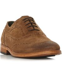 Barbour - Beale Formal Wingtip Brogue Shoes - Lyst