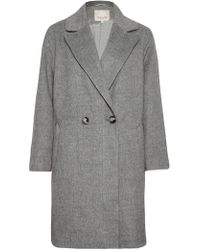 Great Plains | Blenheim Wide Revere Collar Coat | Lyst