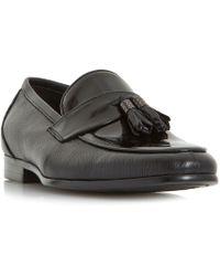 Dune - Princetown Hi-shine Tassel Loafer Shoes - Lyst