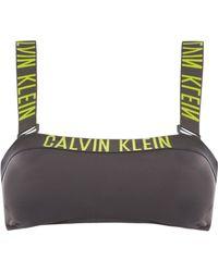 CALVIN KLEIN 205W39NYC - Intense Power Bandeau Bikini Top - Lyst