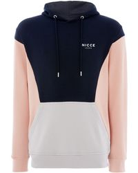 Nicce London - Men's Colour Block Hoodie - Lyst