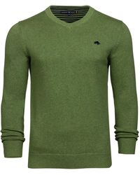 Raging Bull - Men's Big And Tall V-neck Cottcash Sweater - Lyst