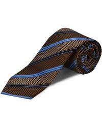 Double Two - Silk Stripe Tie - Lyst