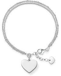 Thomas Sabo - Love Bridge Engravable Heart Bracelet - Lyst