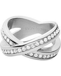 Dyrberg/Kern - Dk337981 Nagyz Ii Crystal Rings - Lyst